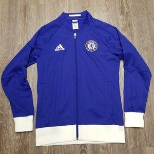 adidas Chelsea FC full zip jacket NWOT